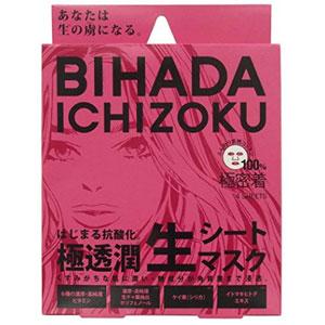 美肌一族 Bihada Ichizoku 极透浸润面膜 27ml*4枚