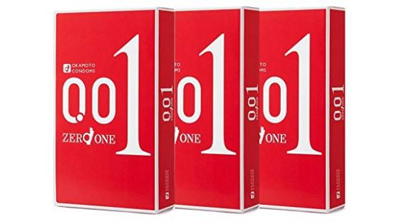 冈本001避孕套 3个装*3盒
