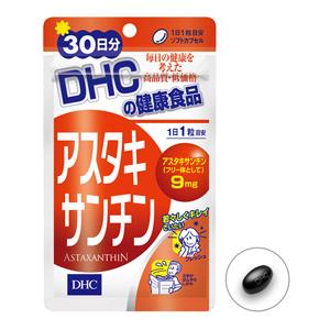 DHC虾红素丸 虾青素天然维生素E 1000倍抗氧化抗衰老 30粒