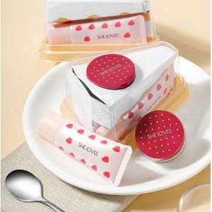 SUGAO腮红膏隔离草莓蛋糕套装 白色款