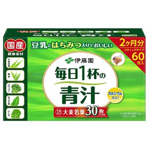 伊藤园 每天一杯青汁(粉末类型)7.5g*60包
