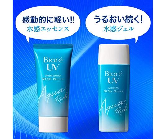 Biore碧柔UV AquaRich水感防晒SPF50+ 90ml*24支装