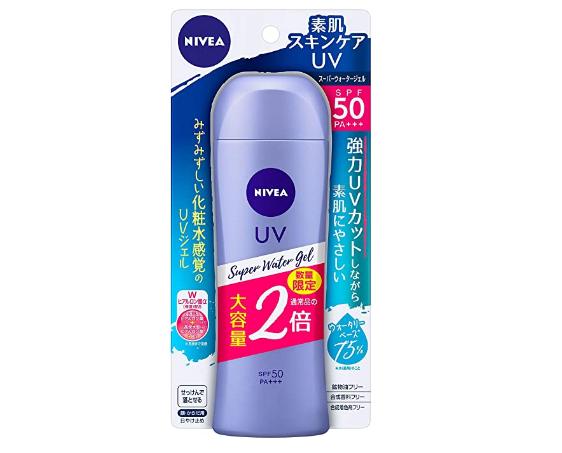 NIVEA妮维雅 清爽水感防晒凝露防晒霜160g SPF50/PA+++