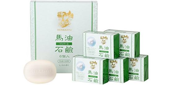 药师堂 尊马油洗颜洁面皂 85g*6个