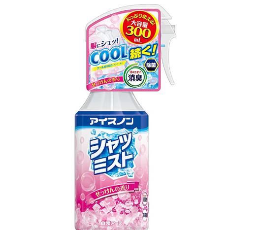 白元 衣物降温清凉喷雾 香皂味 400ml