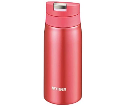 TIGER虎牌 MCX-A351不锈钢保温杯 350ml 粉色