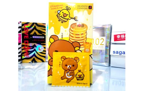 Okamoto冈本 轻松熊 避孕套 超润滑热感安全套 10个装