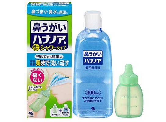 小林制药 鼻腔专用清洗套装(清洗工具+专用清洗液300ml)