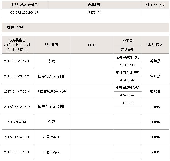 日本发sal到中国一般要多久?