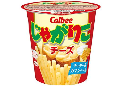 Calbee卡乐比薯条杯装 58g×12杯 芝士味