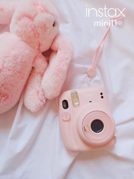 FUJIFILM 拍立得 mini 11 亮粉色