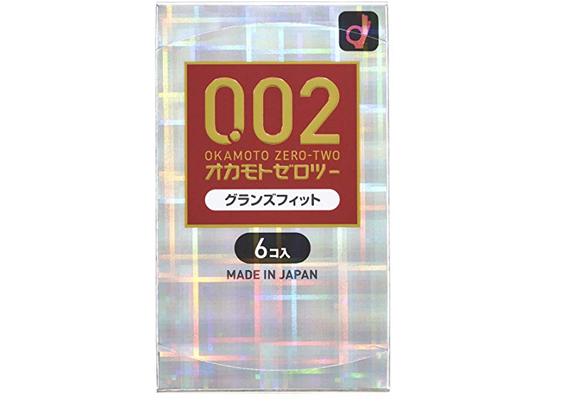 Okamoto冈本0.02 前端加大超薄避孕安全套 6只装