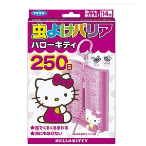 HELLO KITTY天然便携式驱蚊防蚊挂件 250日 限定款