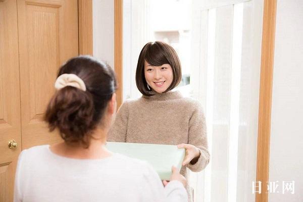 日本人搬家送邻居礼物