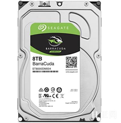 Seagate 希捷 BarraCuda 3.5英寸 8TB 内置硬盘 ST8000DM004