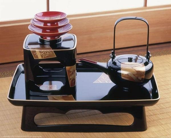 日本漆器工艺产品的代表