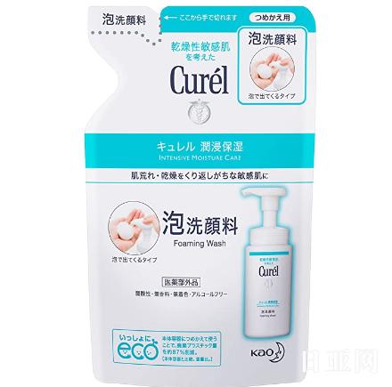 Curel珂润 泡沫洗面奶 替换装 130ml