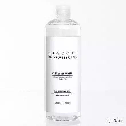 日本CHACOTT 温和保湿卸妆水 500ml使用方法