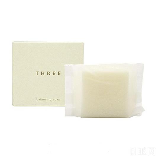 日本THREE balancing soap平衡洁面皂 80g
