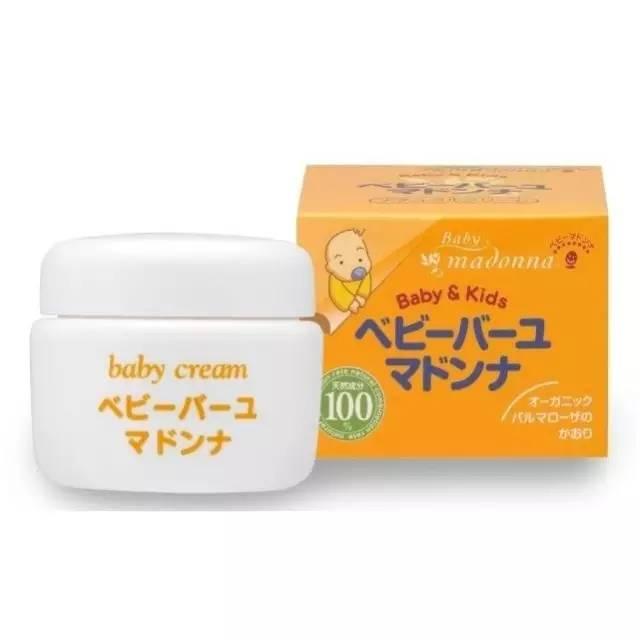 日本Madonna天然马油宝宝护肤霜怎么用