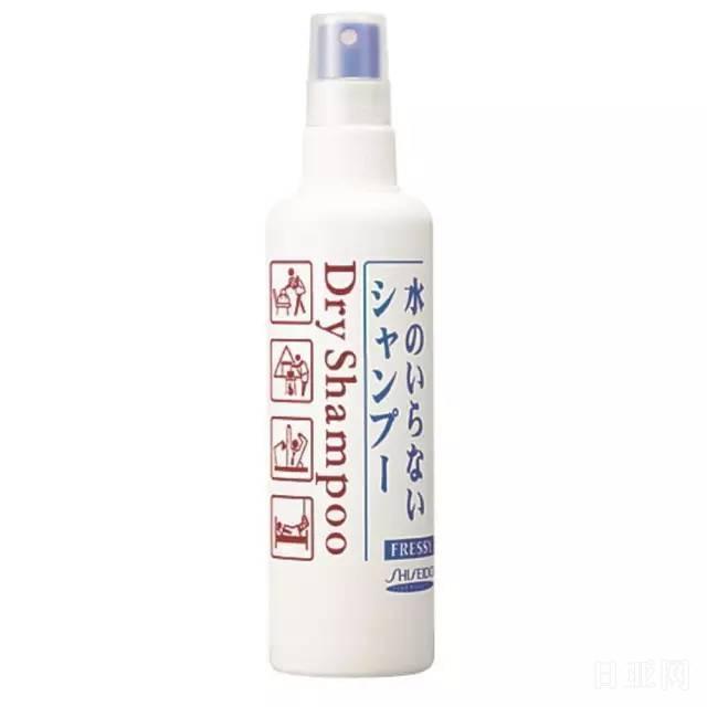 日本资生堂免洗洗发喷雾怎么用
