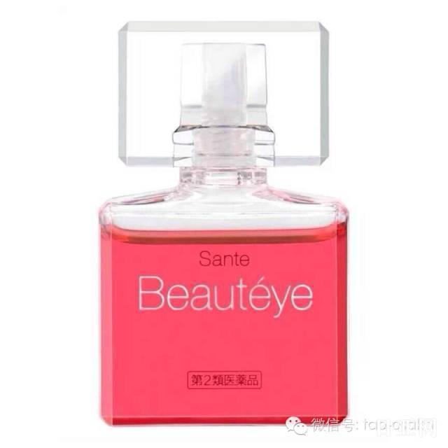 日本Sante Beauteye玫瑰眼药水使用说明