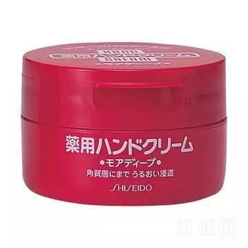 日本资生堂药用护手霜 100g使用说明