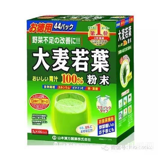 日本大麦若叶青汁功效和作用