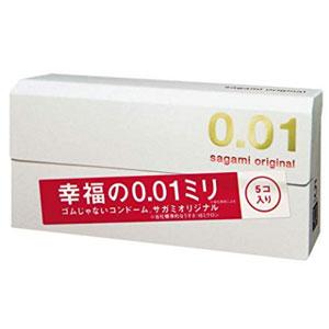 Sagami Original 相模原创001超薄避孕套/安全套 5只