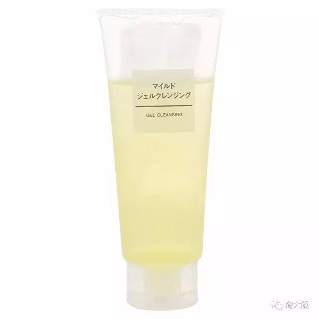 日本MUJI 无印良品 柔和卸妆啫喱使用方法