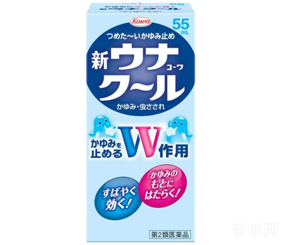 KOWA兴和制药 防蚊止痒液 海绵头 55ml