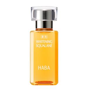日本HABA药用鲨烷美白美容油功效及使用方法
