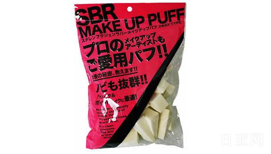 石原商店 SBR 化妆海绵粉扑 三角形 NKO-4501 30个装