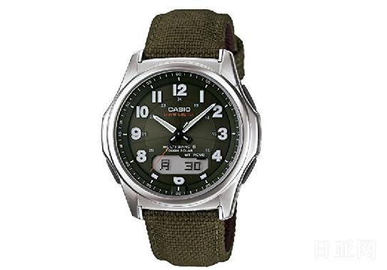 CASIO卡西欧 WVA-M630B-3AJF 6局电波光动能男士手表
