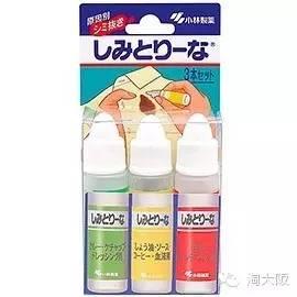 日本小林制药局部衣物去污剂怎么用使用方法