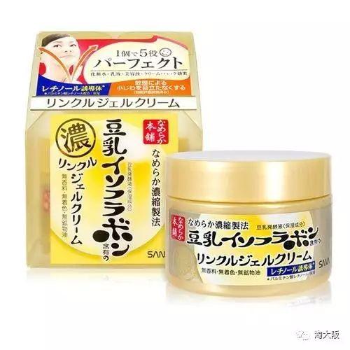 日本SANA 豆乳美肌紧致润泽凝胶霜怎么样